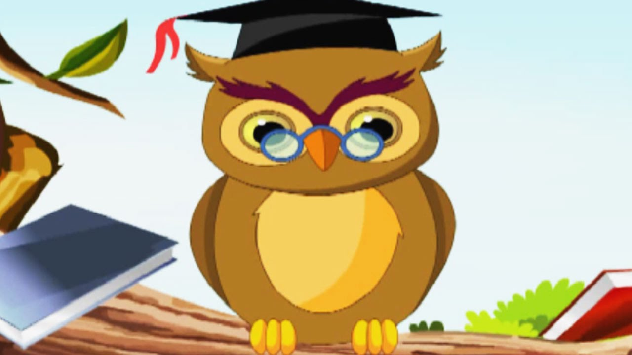 A Wise Old Owl Nursery Rhymes | Popular Nursery Rhymes For ...