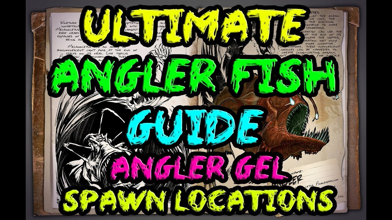 Ark survival evolved ultimate angler fish guide for Angler fish ark