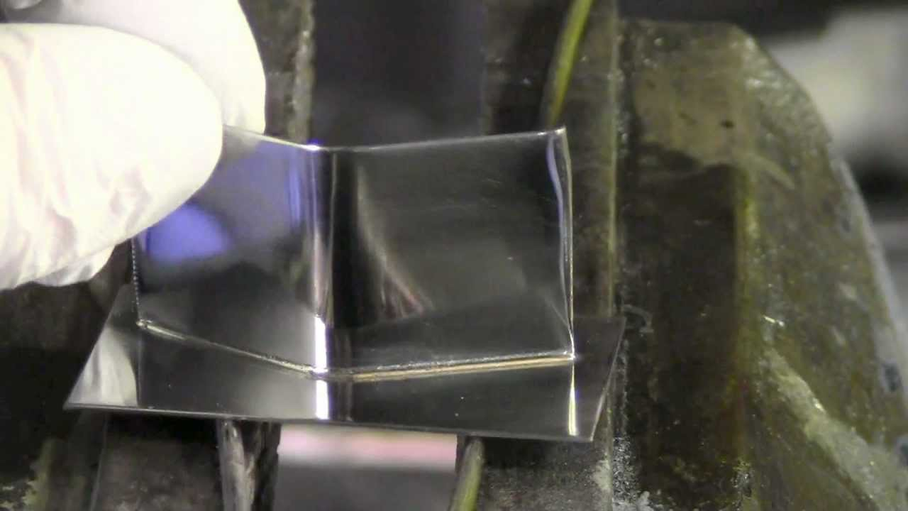 Silver Soldering Two Stainless Steel Plates Youtube