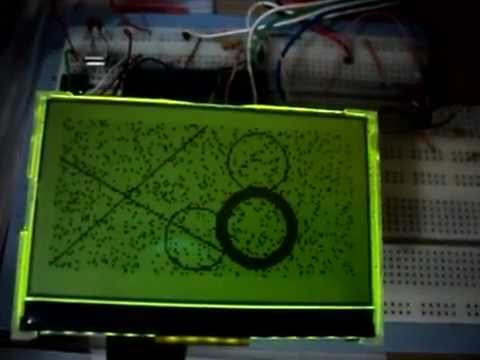 Driver LCD PowerTip