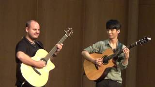 (Andy Mckee) Ebon Coast – Andy Mckee and Sungha Jung(Live)