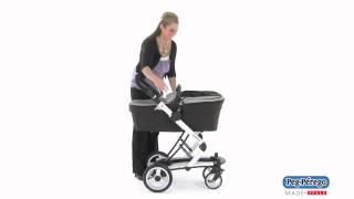 2011 Stroller System - Peg Perego Skate System - How To Adjust The Bassinet Height