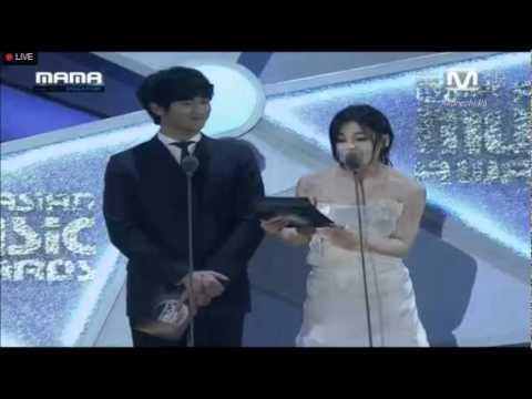 김현중 (Kim Hyun Joong) 2011 MAMA Best Male Solo Artist [2011.11.29]