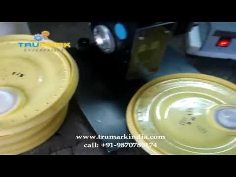 how to print manufacturing date, expiry date, batch no, mrp on plastic lids of 15 liter bucket