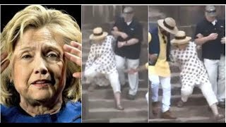 "HILLARY'S DOCTORS WON'T LET HER LEAVE INDIA AS HER ""SECRET ILLNESS"" COMES OUT!"
