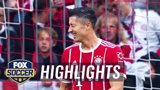 Top 5 strikers (so far) | 2017-18 Bundesliga Highlights