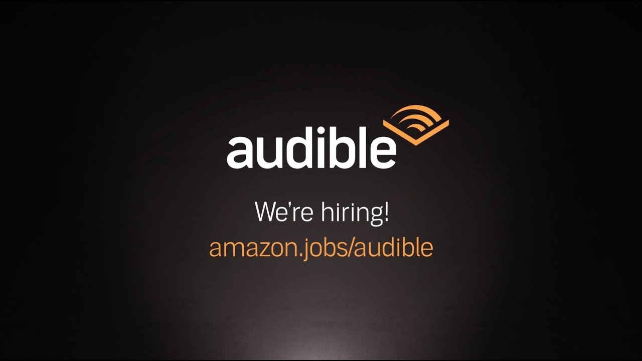 Amazon Audible Login Audible Amazon Jobs