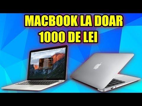 Un fel de Macbook la doar 1000 LEI pe PC GARAGE !!