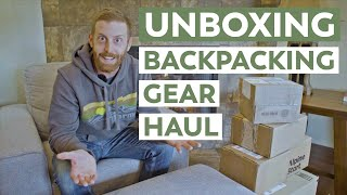 Unboxing a Box | New Backpacking Gear and Meals