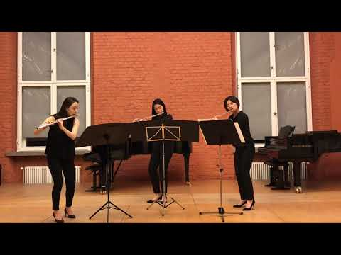 Felix Mendelssohn Bartholdy - Scherzo from A Midsummer Night's Dream (Flute East Trio)