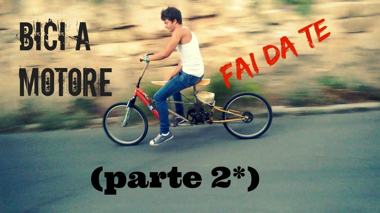 Da bici a motore parte 2 fai da te 2 youtube for Fermaporta fai da te
