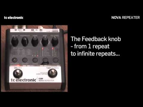 TC Electronic Nova Repeater delay pedal