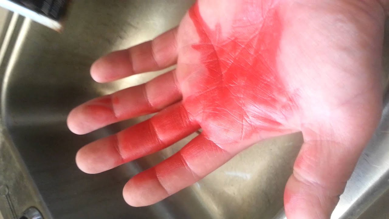 fast way to get spray paint off your hands youtube