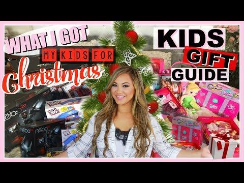 WHAT I GOT MY KIDS FOR CHRISTMAS! Christmas Gift Idea's for Kids! thumbnail