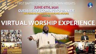 June 6th, 2021: Virtual Worship Experience
