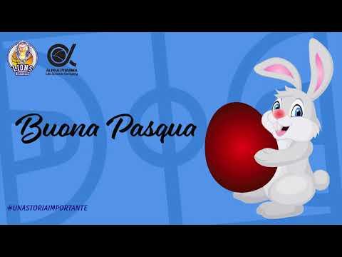 Buona Pasqua dai Lions Basket Bisceglie