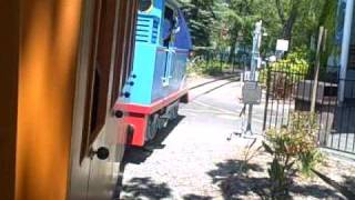 Thomas Town Train Ride Six Flags Vallejo CA