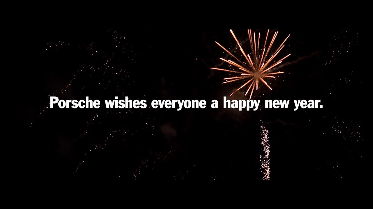 happy new year from porsche youtube