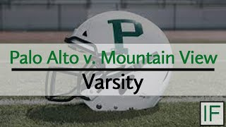 Paly Sports: Palo Alto @ Mountain View - Varsity