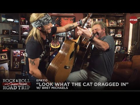 Crystal - WATCH:  Sammy Hagar Visits Bret Michaels on AXS TV's Rock N Roll Road Trip