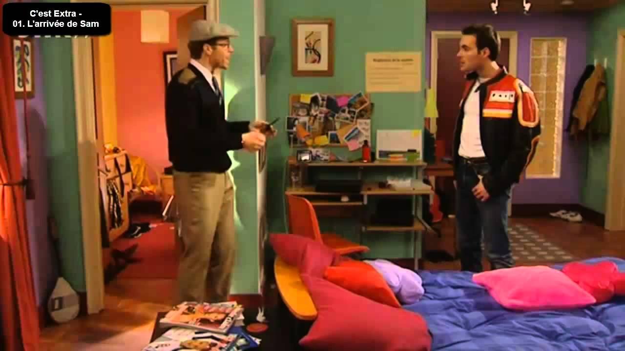 extra en francais episode 1 l 39 arriv e de sam youtube. Black Bedroom Furniture Sets. Home Design Ideas