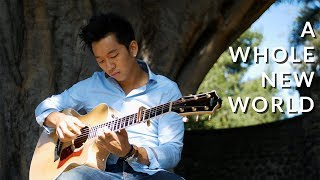 A Whole New World (Disney Aladdin) - Fingerstyle Acoustic Guitar Cover