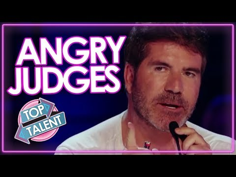 Judges Get Angry On X Factor & Idols | Top Talents