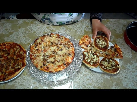 صورة  طريقة عمل البيتزا طريقة عمل عجينة البيتزا خلال 10 دقائق  المطبخ التونسي - Pâte à pizza 10 minutes - Pizza طريقة عمل البيتزا من يوتيوب