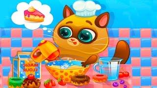 КОТЕНОК БУБУ #35 играем в игру ЛЕЧИМ ЗУБЫ Виртуальный Кот игровой мультик видео для детей #ПУРУМЧАТА