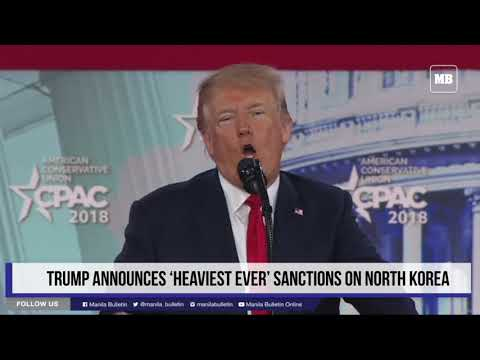 Trump announces 'heaviest ever' sanctions on North Korea