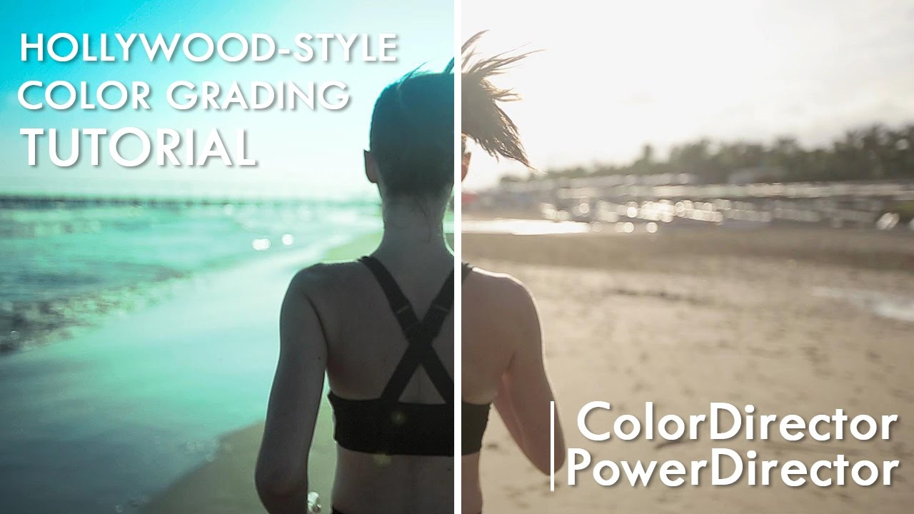 Hollywood-style Color Grading with PowerDirector