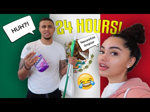 Speaking ONLY SPANISH TO MY BOYFRIEND FOR 24 HOURS
