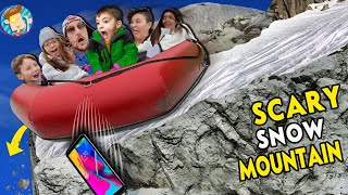 SNOW MOUNTAIN GEORGIA!!  Scary Tubing (FV FAMILY)