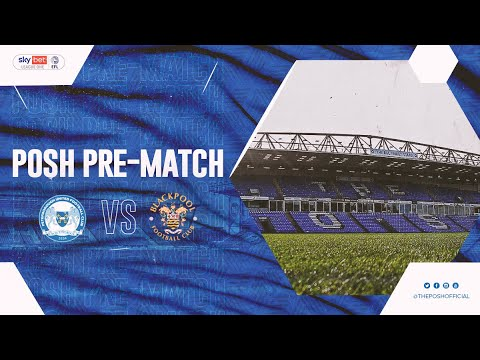 Posh Pre-Match Show ep. 7