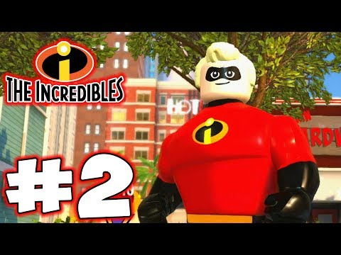LEGO INCREDIBLES - Part 2 - The Family! (HD Gameplay Walkthrough)