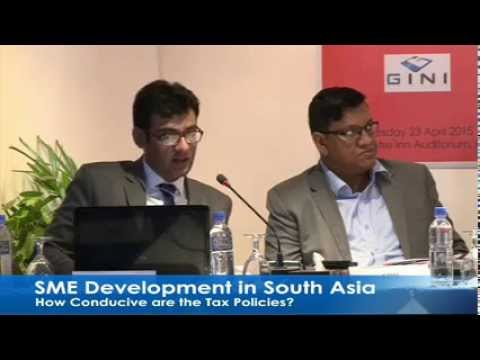 SME Development in South Asia: How Conducive are the Tax Policies?