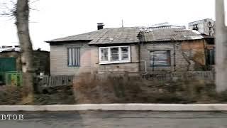 Донецк 13.12.18. Поездка в горбольницу №21 через Путиловский мост.