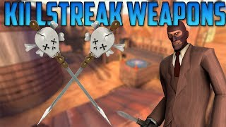 TF2 Killstreak Weapons! Talking about Killstreak weps! Commentary as the Spy! Part 5 [English] [HD]