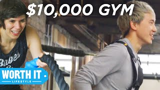 Download Video $40 Gym Vs. $10,000 Gym MP3 3GP MP4