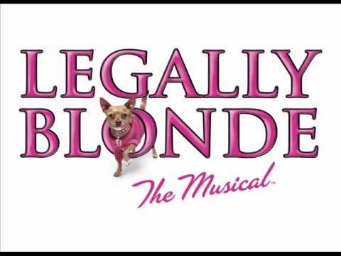 Ireland & Ireland Reprise - Legally Blonde (30.06.11) - Natalie Casey