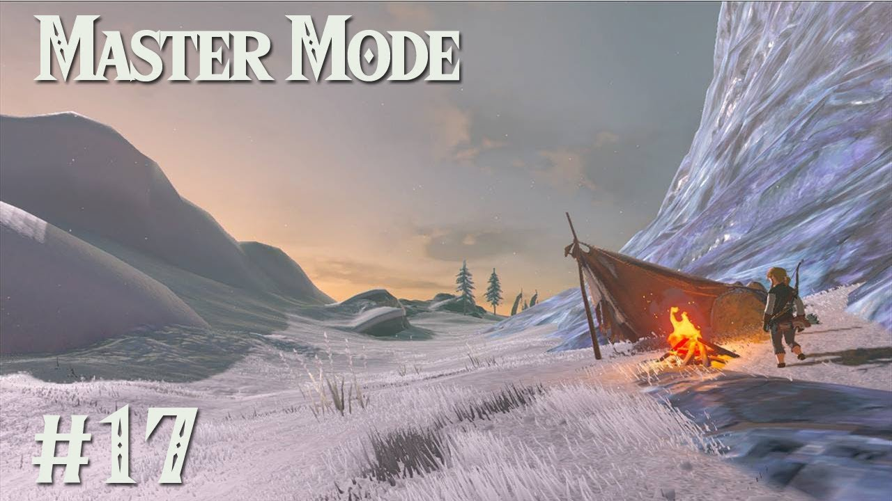 The Hebra Mountains Zelda Botw Master Mode 17