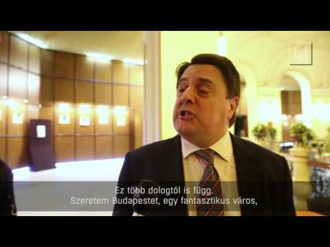 British right wing leader Nick Griffin is moving to Hungary.