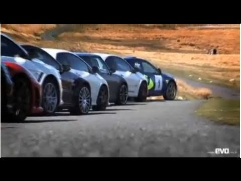 Road Racers group test part 1 - evo Magazine