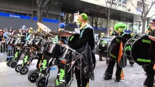 🎺  CARNAVAL SION 2016 - Gugg'Dragons - Chermignon