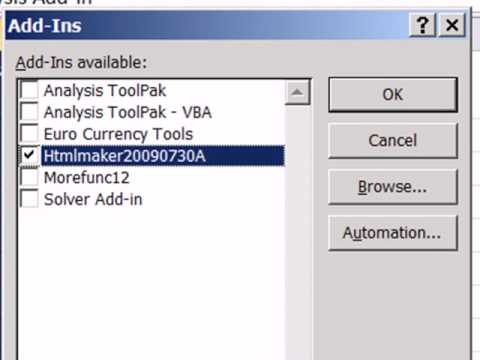 Excel 2010 Statistics 02: Excel 2010 Data Analysis Add-In - Youtube