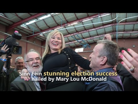 Sinn Féin stunning election victory hailed by Mary Lou McDonald