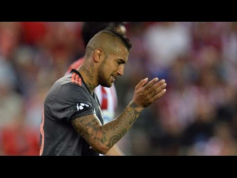 Arturo Vidal vs Atletico Madrid (Away) HD 720p (28/09/2016) - UCL
