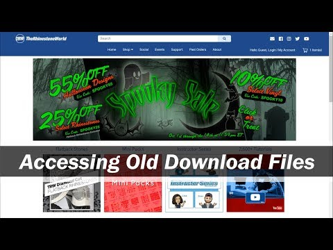 Finding your Download Files from the Old TRW Website - YouTube