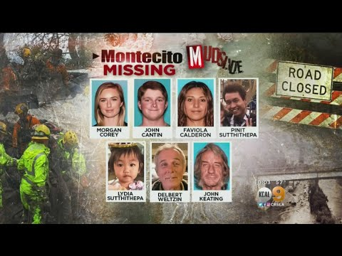 Search For The Montecito Missing Continues