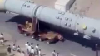 بالفيديو.. الحوثيون يروجون لأنبوب نفط على أنه صاروخ مدمر